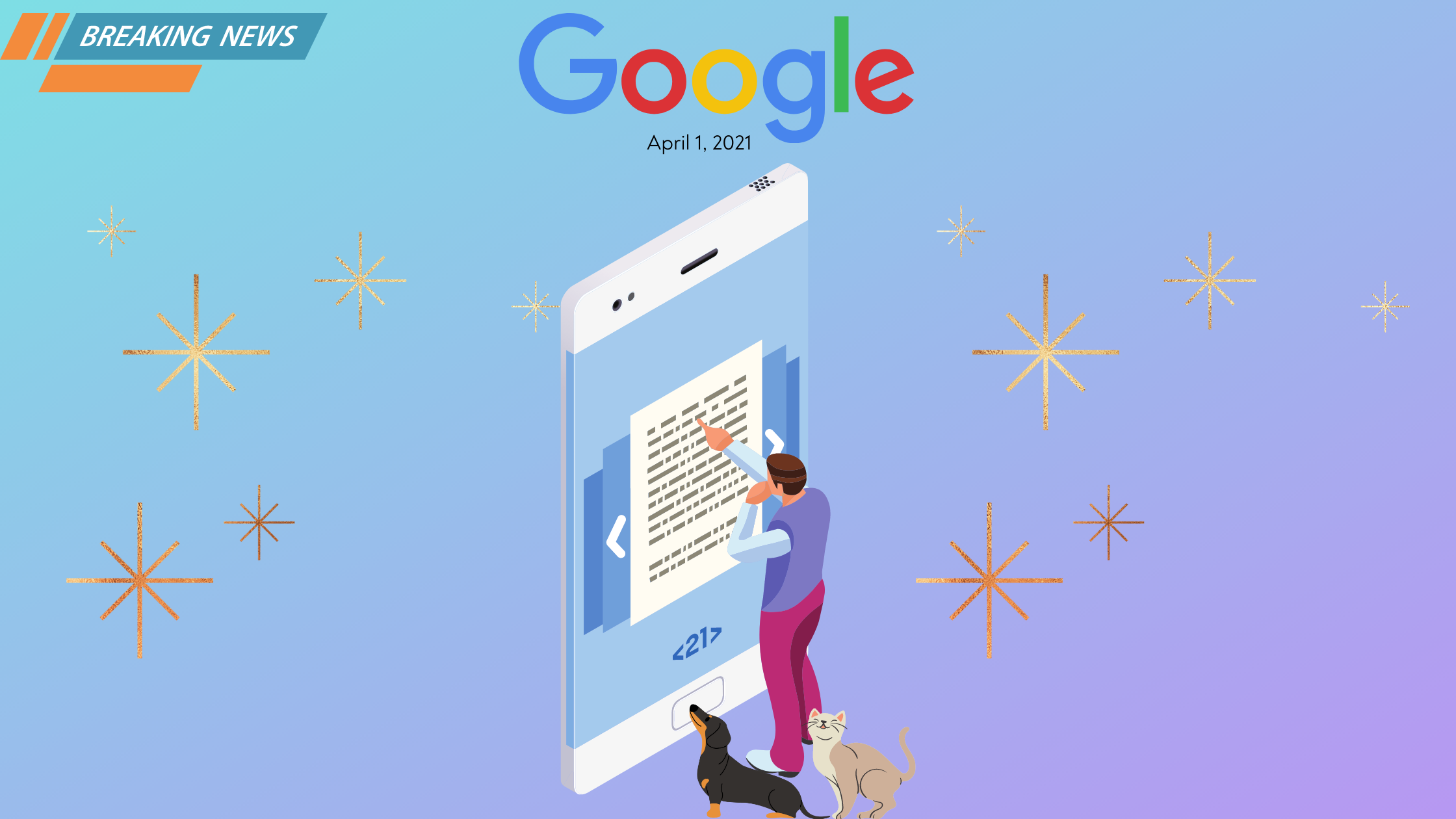 Image: April 1 New Search Engine Algorithm Update Prioritizes Cute Pet Photos!
